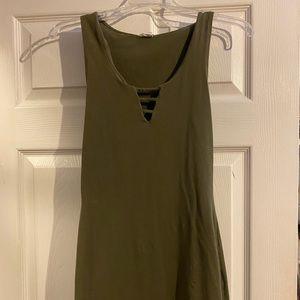 Body in dress